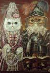 Персидские котята в костюмах эпохи Людовика XIV