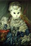 Ангорская в образе Марии Антуанетты